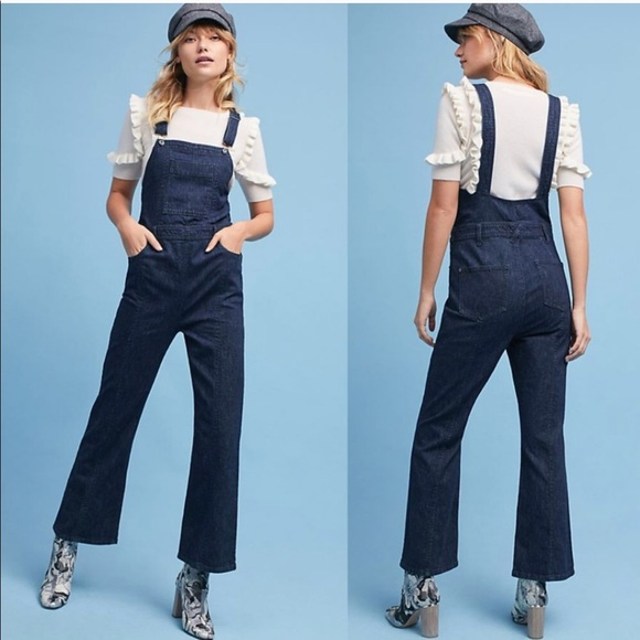 5d08afc64453 Anthropologie Pilcro denim overalls